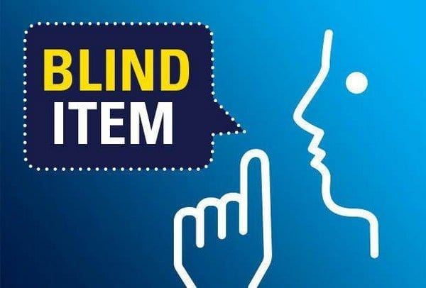 Blind Item – March - Hollywood - 2017 2