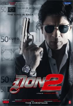 Shah Rukh Khan & Lara Dutta in Don 2