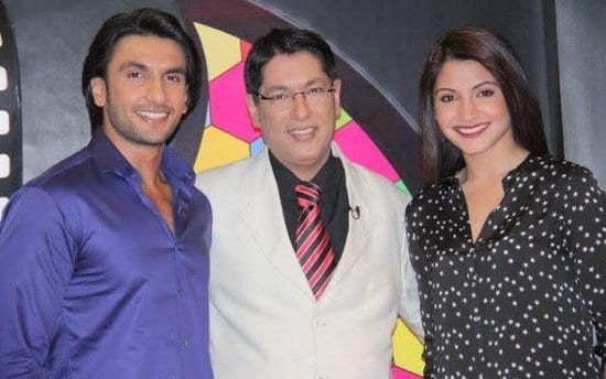 Anushka Sharma & Ranveer Singh Spotted with Taran Adarsh