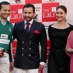 Sharmila Tagore, Kareena Kapoor & Saif Ali Khan at the Bhopal-Pataudi Final Cup Match in New Delhi