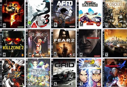 games of playstation 3