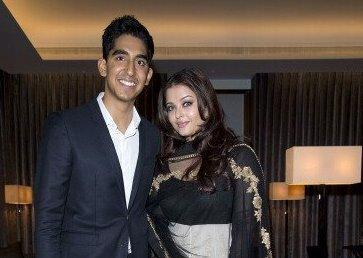 Aishwarya Rai Bachchan Spotted with Dev Patel