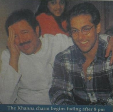 Rajesh Khanna Spotted with Salman Khan
