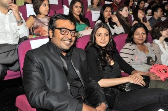 Anushka Sharma & Anurag Kashyab at the London Indian Film Festival 2012