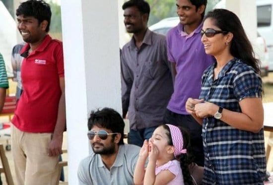 Tamil Actor Ajith Kumar Family Photos Tamil-actor-ajith-kumar