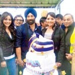 Dharmendra, Sunny Deol, Bobby Deol & Karan Deol Celebrating Sunny Deol's Birthday