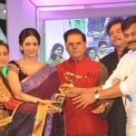 Sridevi, Tamannaah Bhatia, Ameesha Patel, Ram Charan Teja, Neha Dhupia, Anil Kapoor and Rani Mukherjee at TSR-TV9 Film Awards