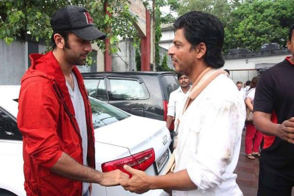 Ranbir Kapoor, Shah Rukh Khan at Priyanka Chopra' Father Funeral