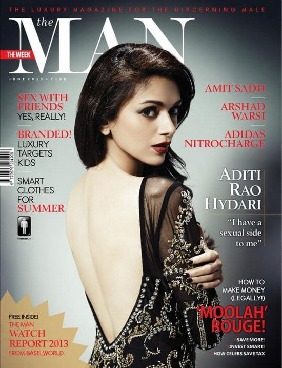 Aditi Rao Hydari on The Man Magazine