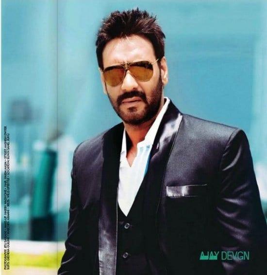 Ajay Devgan on Cine Blitz Magazine