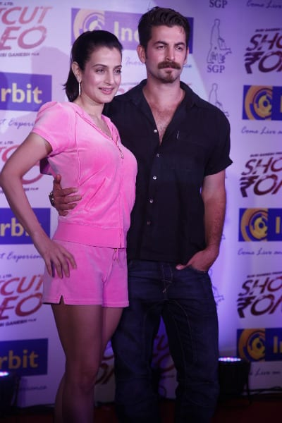Ameesha Patel and Neil Nitin Mukesh promote Shortcut Romeo