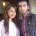 Bipasha Basu with Imran Abbas on the sets of Creature 3D