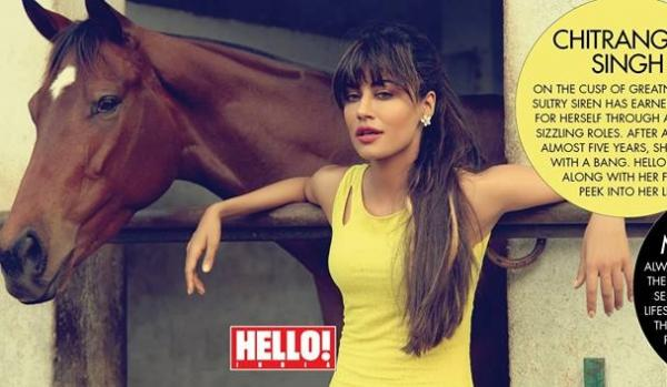Chitrangda Singh on Hello Magazine