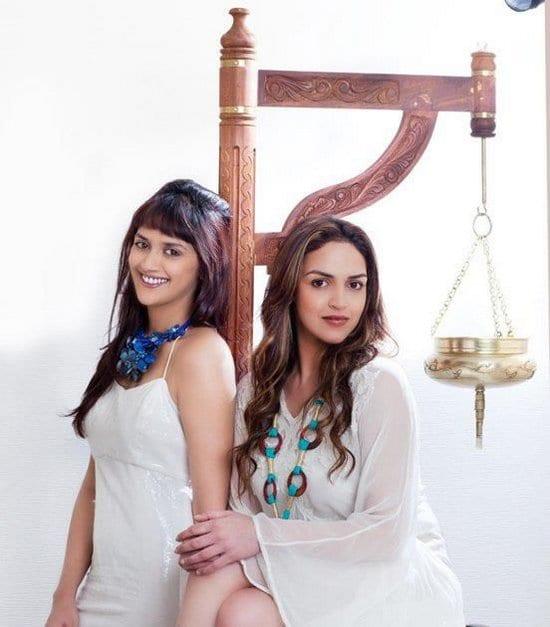 Hema Malini, Esha Deol and Ahana Deol on AsiaSpa Magazine