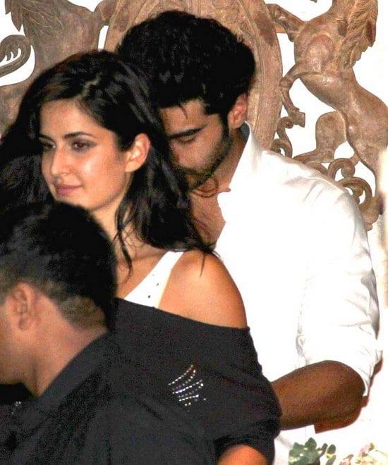Katrina Kaif at Arjun Kapoor's Birthday Party