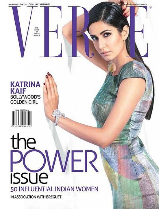 Katrina Kaif on Verve Magazine