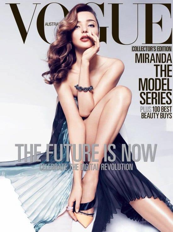 Miranda Kerr on Vogue Magazine
