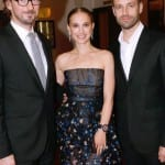 Natalie Portman and Benjamin Millepied Spotted at the LA Dance Project premiere in Paris