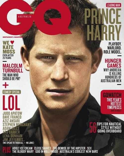 Prince Harry on GQ Magazine