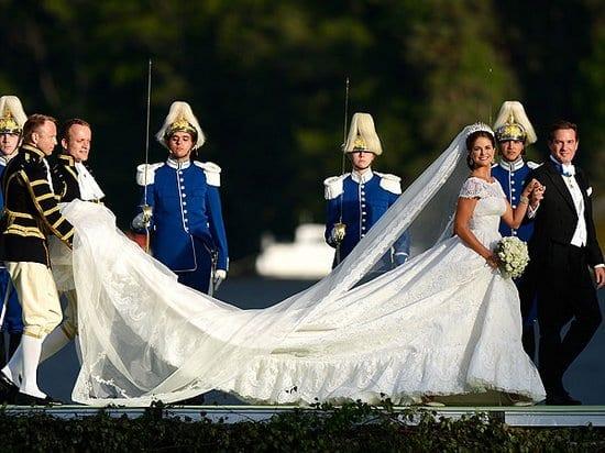 Princess Madeleine of Sweden and her Wedding Dress