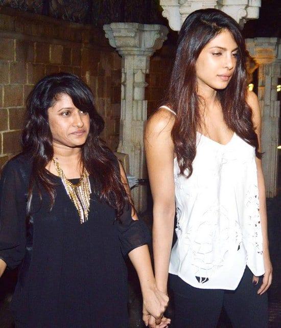 Priyanka Chopra at Arjun Kapoor's Birthday Party
