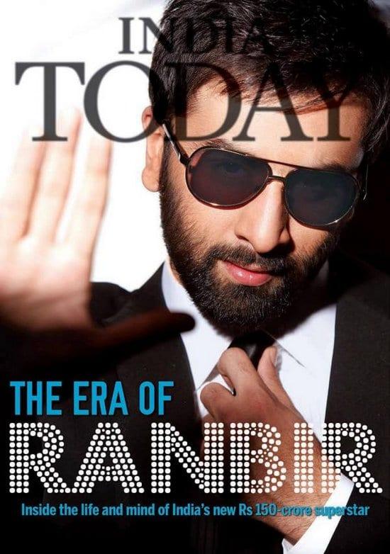 Ranbir Kapoor on India Today Magazine