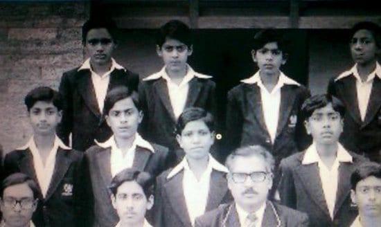 Salman Khan in a Childhood School Picture