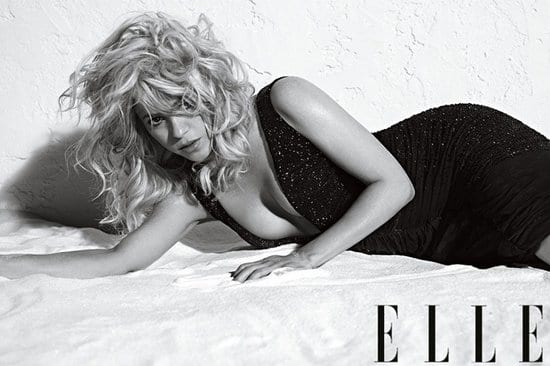 Shakira on Elle Magazine