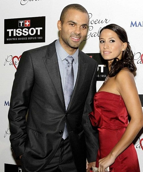 Tony Parker and Axelle Francine Engaged
