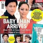 Shah Rukh Khan and Gauri Khan on Masala Magazine