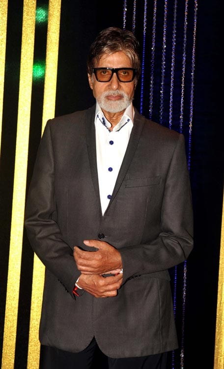 Amitabh Bachchan at Rakesh Roshan's Birthday Celebrations