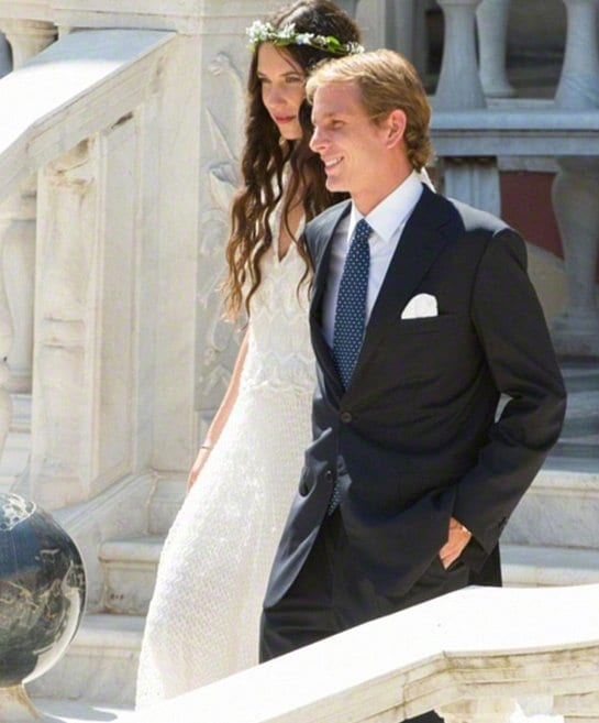 Andrea Casiraghi and Tatiana Santo Domingo Get Married