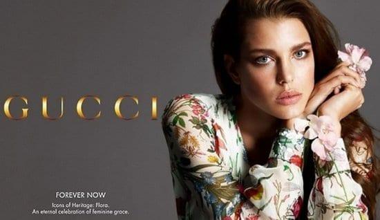 Charlotte Casiraghi in a Gucci Ad