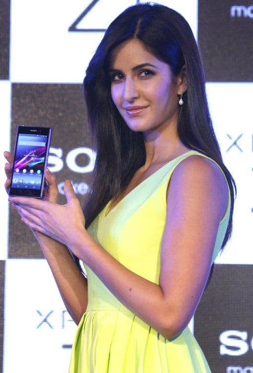 Katrina Kaif at the Sony Xperia Z1 Launch