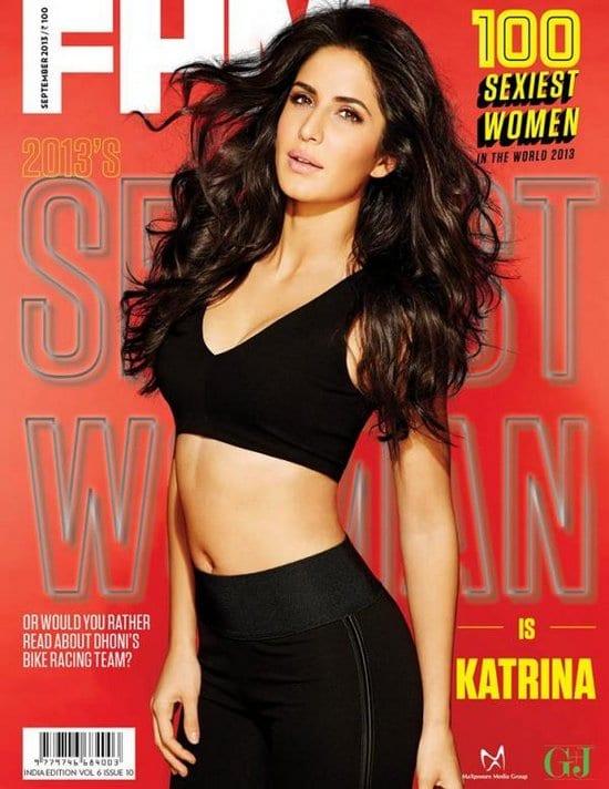Katrina Kaif on FHM Magazine