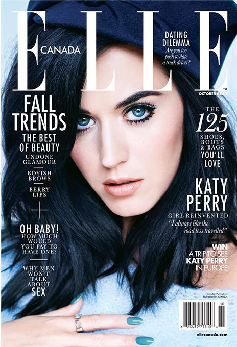 Katy Perry on Elle Magazine