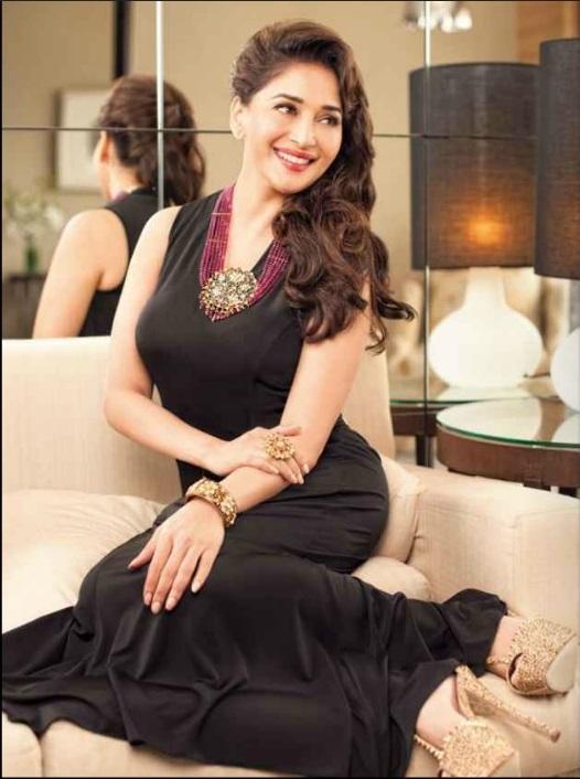 Madhuri Dixit on Hi! Blitz Magazine