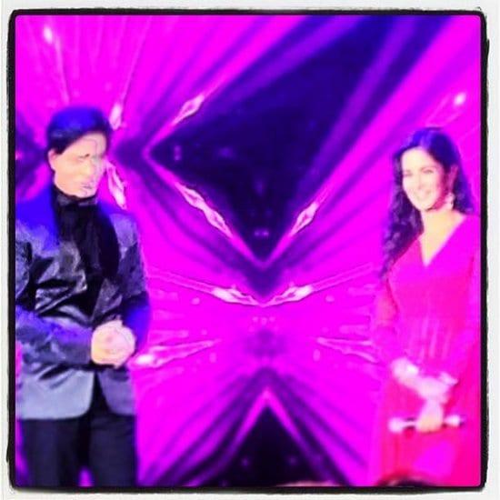 Shah Rukh Khan and Katrina Kaif Spotted at a Wedding in London