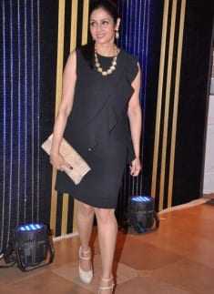 Sridevi at Rakesh Roshan's Birthday Celebrations