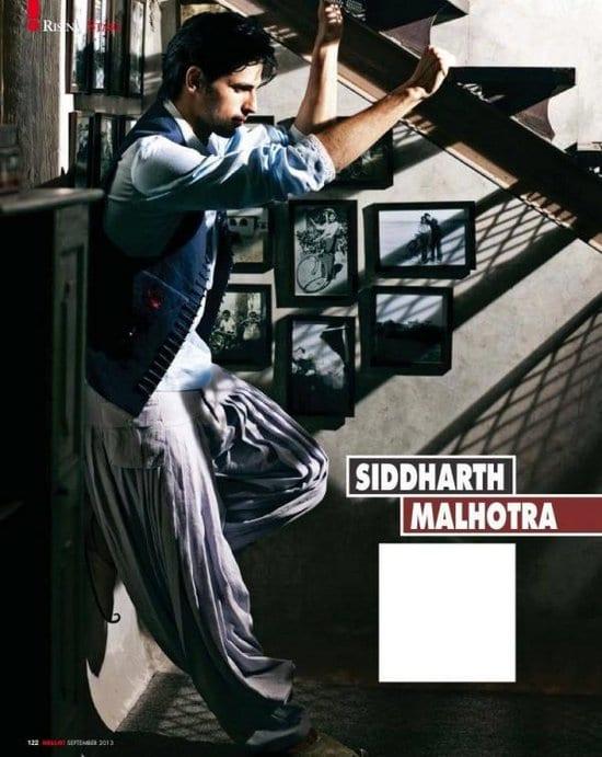 Varun Dhawan, Sidharth Malhotra, Alia Bhatt and Sushant Singh Rajput in Hello! Magazine