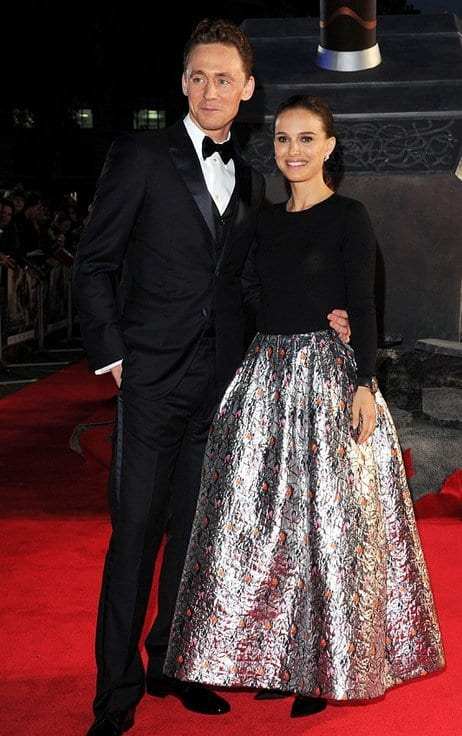 Tom Hiddleston couple