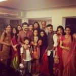Anil Kapoor, Sanjay Kapoor, Sonam Kapoor, SriDevi, Boney Kapoor and Others Celebrate Diwali
