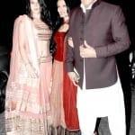Anushka, Priyanka, Vidya, Imran with wife Avantika and Jackie at Aamir Khan's Diwali Party