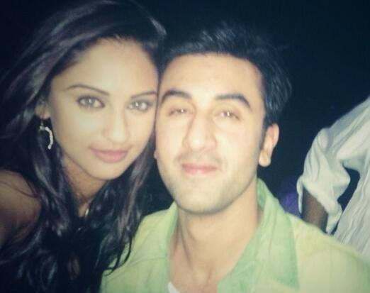 Krystle D'Souza Spotted with Ranbir Kapoor