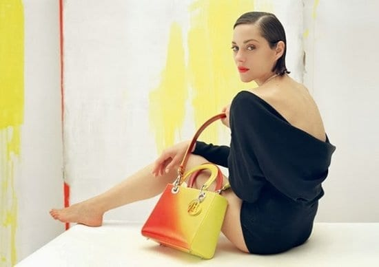 Marion Cotillard in Lady Dior Fall 2013 Photoshoot