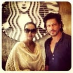 Shah Rukh Khan and Gauri Khan Spotted at Starbucks