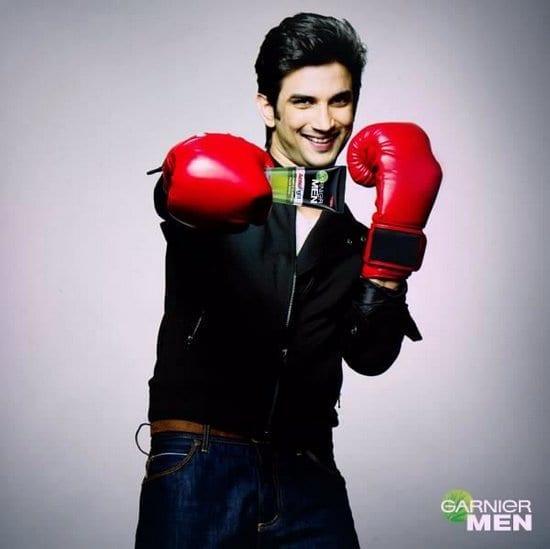 Sushant Singh Rajput in Garnier Ads