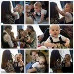 Kate Middleton with Prince George in New Zealand