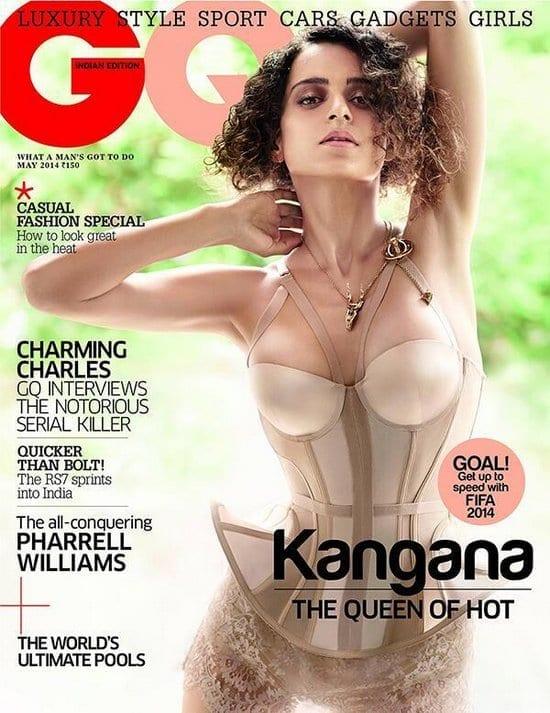 Kangana Ranaut on GQ Magazine