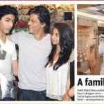 Shah Rukh Khan, Gauri Khan, Suhana Khan and Aryan Khan Spotted